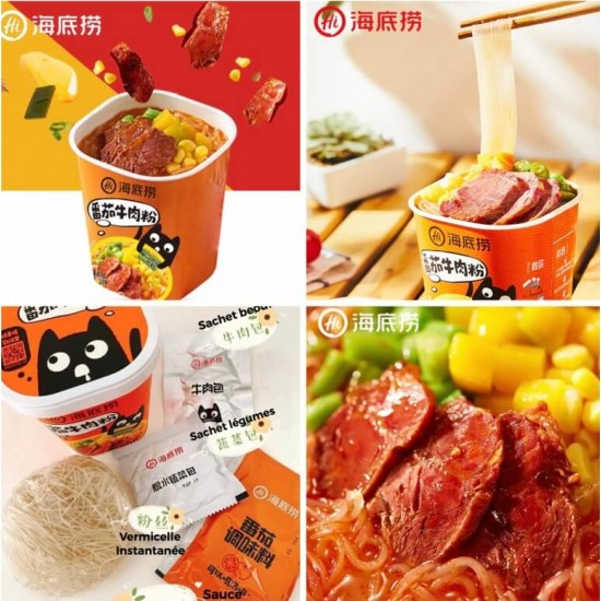 HDL Vermicelli Instant Saveur Tomate 118 G